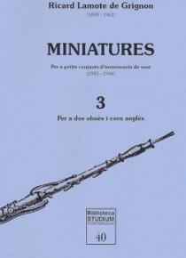 Minatures, vol. 3