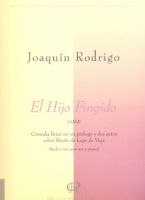El hijo fingido (voice and piano score)