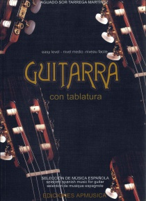 Guitarra con tablatura