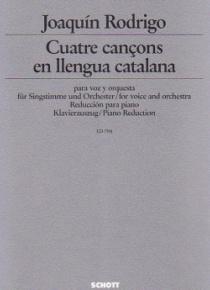 Quatre cançons en llengua catalana