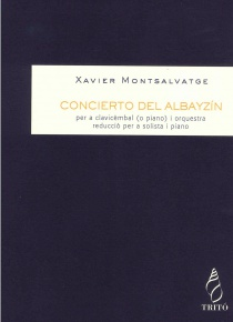 Concerto del Albayzín (piano reduction)