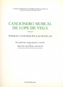 Cancionero Musical de Lope de Vega Vol. I
