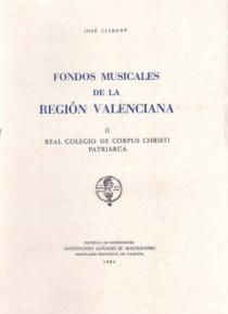 Fondos Musicales de la Región Valenciana, vol. II