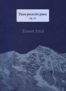 Three pieces for piano op. 12