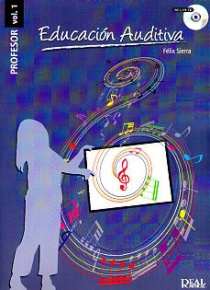 Educación auditiva vol. 1 / profesor (with CD)