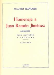 Homenaje a Juan Ramón Jiménez