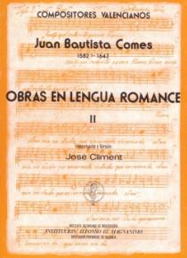 Obras en lengua romance Vol.II