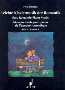 Easy Romantic Piano Music, volume 1