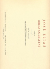 Complete Works, vol. IIA