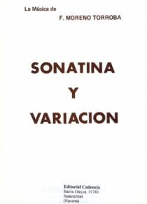 Sonatina y variación