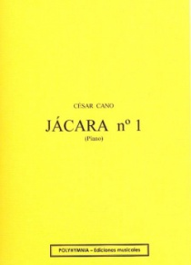 Jácara no. 1, for piano