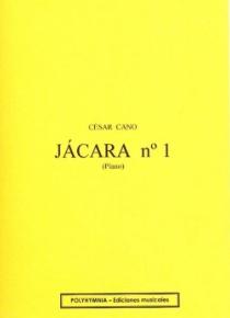 Jácara nº 1, para piano