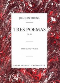 Tres poemas op. 81