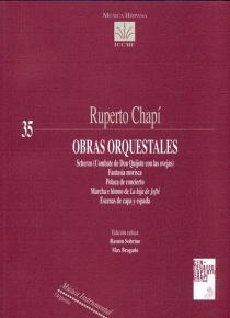 Obras Orquestales
