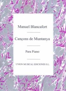 Cançons de Muntanya per a piano