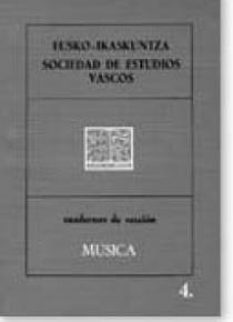 Cuadernos de sección. Música (4)