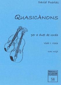 Quasicànons (vl i vla)