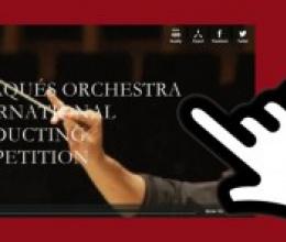 Tritó lleva el Concurso Internacional de Dirección de Orquesta de Cadaqués a tu casa