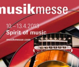 Tritó en la próxima edición de Musikmesse en Frankfurt