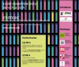 V Fira de partitures a l'Escola Superior de Música de Catalunya