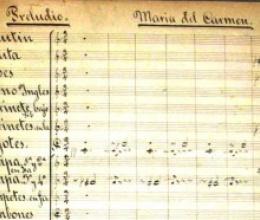 Tritó publicara l'òpera «María del Carmen» d'Enric Granados, recentment recuperada