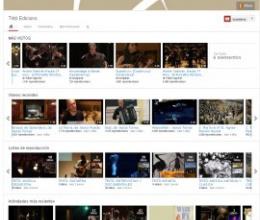 Coneixes el nostre canal de Youtube?