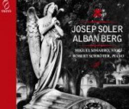 Presentación del nuevo CD de obras de Josep Soler y Alban Berg
