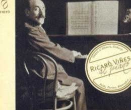 Ricard Viñes al piano