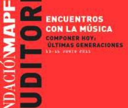 Encuentros con la música contemporánea, en la Fundación Mapfre