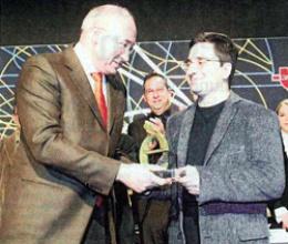 Hèctor Parra, winner of the Premio Tendències award for up-and-coming creators