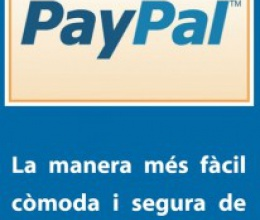 Tritó es puja a la cistella de Paypal