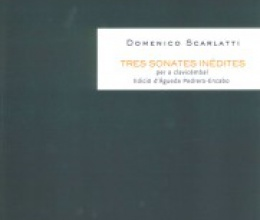 Three unpublished sonatas by Domenico Scarlatti now available