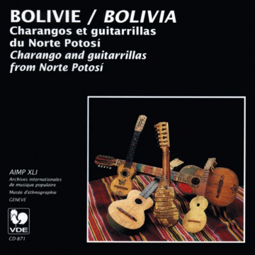 Bolivie, Charangos et guitarillas du Norte Potosi