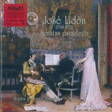 José Lidón - Sonatas para tecla