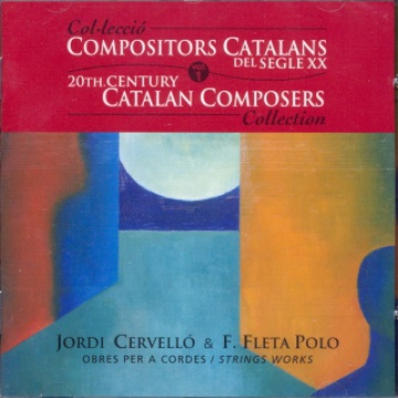 20th Century Catalan Composers, vol. 1