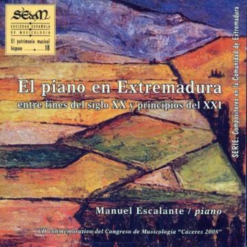 El piano en Extremadura