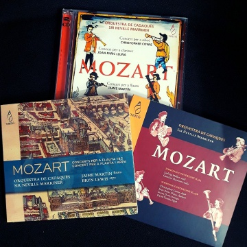 OFERTA: Lote 3 CD de Mozart (Director: Sir Neville Marriner)