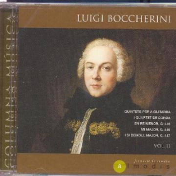 Boccherini: Quintets amb guitarra, vol.II