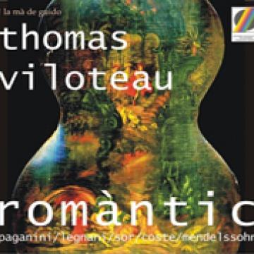 Thomas Viloteau. Romàntic. Música para guitarra del Romanticismo