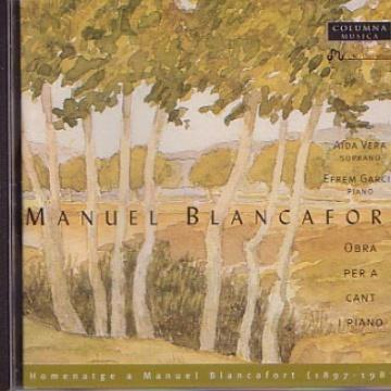 MANUEL BLANCAFORT - Integral de Cant - Première