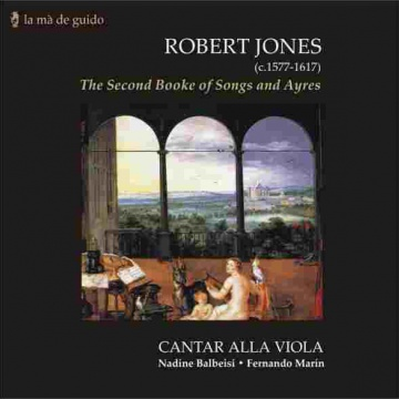 Robert Jones - The second book of songs and ayres