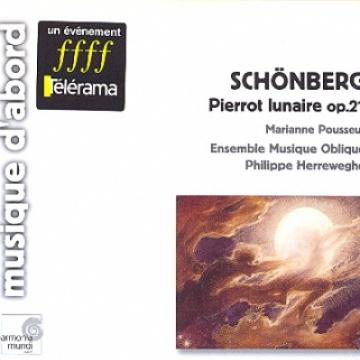 Pierrot Lunaire, op.21 / 1ª Sinfonía de cámara