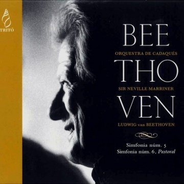 Beethoven:Simfonies 5 i 6 / Marriner