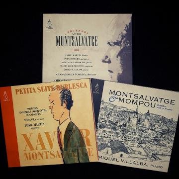 OFERTA: Lot 3 CD de Montsalvatge
