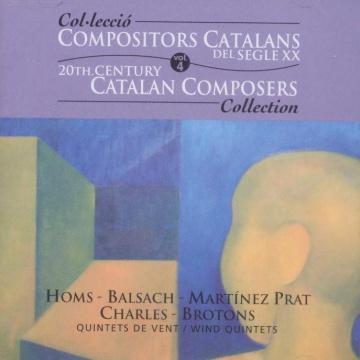 Compositores catalanes del siglo XX - vol. IV - Quintetos de viento