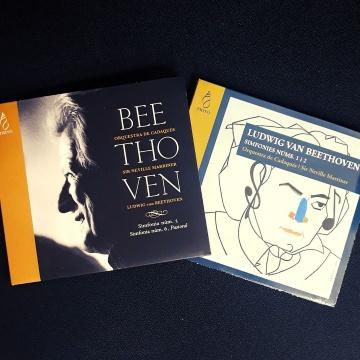 OFERTA: Lot 4 simfonies de Beethoven (Director: Sir Neville Marriner)