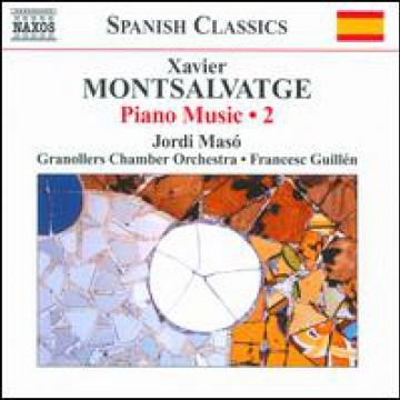 Montsalvatge: Música para piano vol. 2