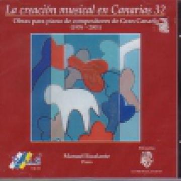 La creación musical en Canarias, 32 - Obras para piano de compositores de Gran Canaria