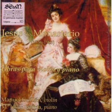 Jesús de Monasterio - Obras para violín y piano