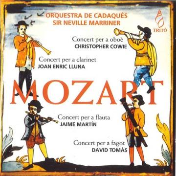 MOZART: 4 Concerts